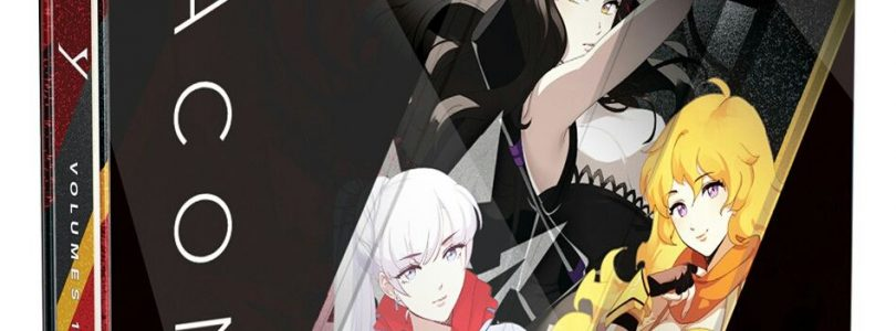 RWBY Volumes 1-3 Beacon SteelBook Review