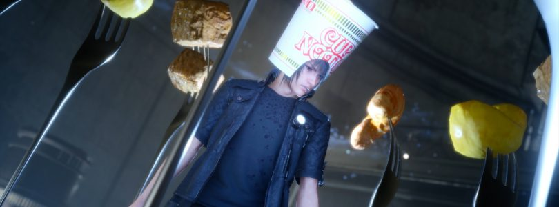 Final Fantasy XV and Nissin Cup Noodle Mashup is a Must See
