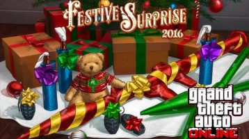 GTA Online Celebrating the Holidays with Festive Surprise 2016