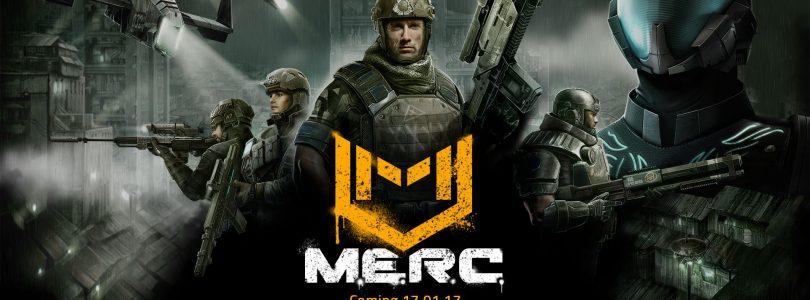 M.E.R.C. Hitting Steam Early Access on Jan 17th