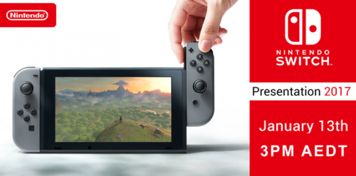 Nintendo Switch Presentation Live Summary