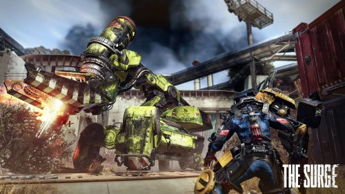 Latest The Surge Screenshots Reveal Mini-Bosses