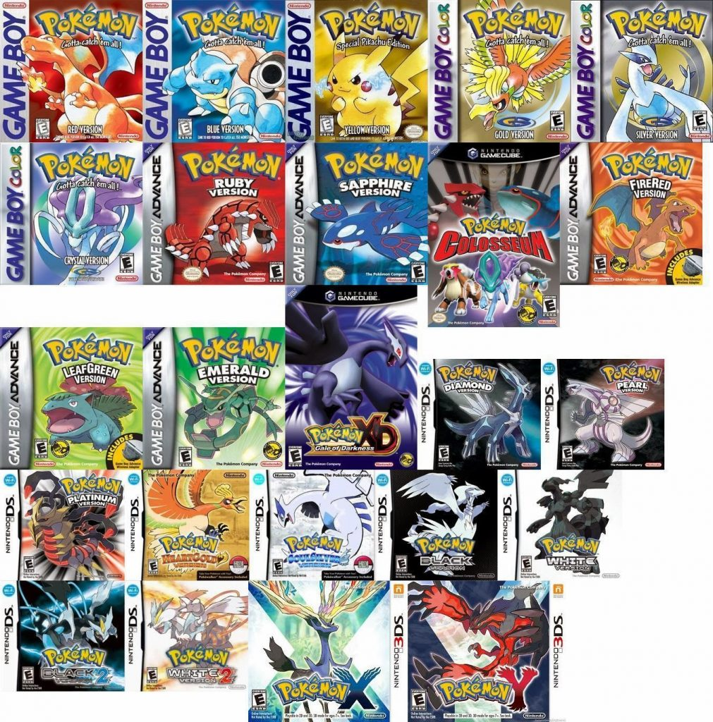 pokemon main games
