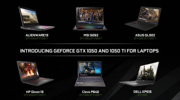 Nvidia GeForce GTX 1050 Ti and GTX 1050 Laptops Released