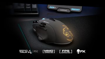 Roccat Reveals Roccat Leadr , Kone EMP, Kone Pure 2017, Isku FX Ahead of CES