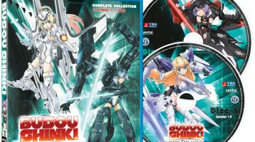 This Tuesday from Sentai Filmworks: 'Busou Shinki' and 'Comet Lucifer'