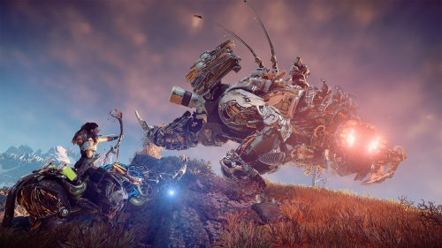 Horizon: Zero Dawn's Snapmaw, Thunderjaw, Behemoth, and Stormbird Previewed