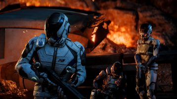 Mass Effect: Andromeda's Combat and Characters Introduced in New Videos