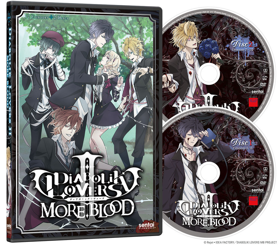 This Tuesday The 28th Of March 2017 Is Release Date Diabolik Lovers II More Blood In Separate DVD And Blu Ray Editions It Wrong To Try