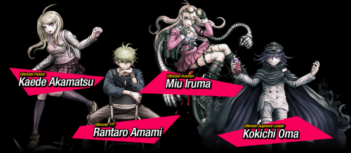 Danganronpa V3: Killing Harmony Introduces Four New Ultimates