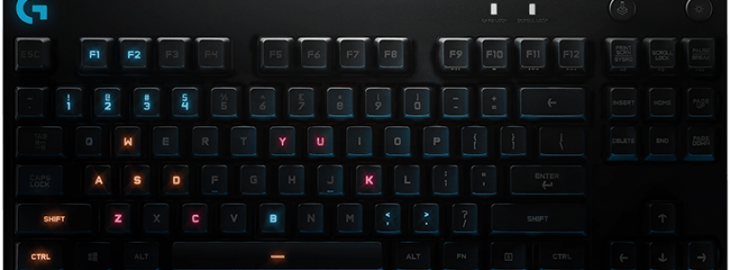 Logitech G Pro Gaming Keyboard Released