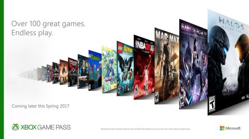 Xbox Games Pass Now Live with a 100+ Titles