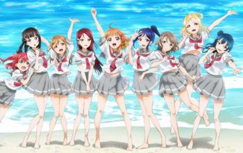 Love Live Sunshine Worldwide Poster Girl Illustrations Released