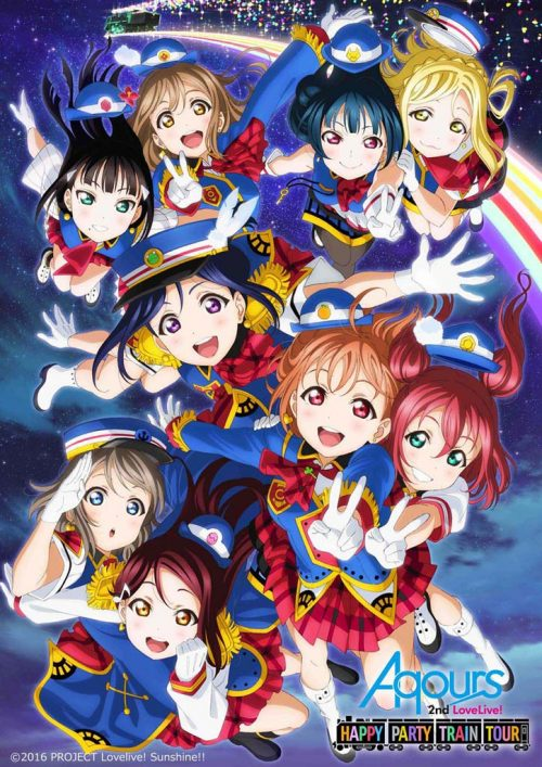 """Madman Has Official 'Love Live! Sunshine' """"Happy Party Train Tour"""" Goods for Pre-Order"""