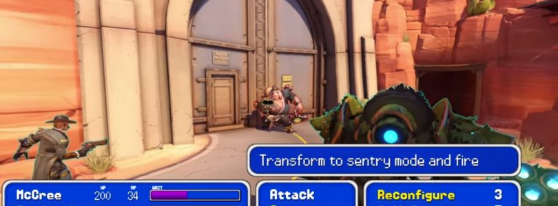 The Salt Factory Machinima Re-imagines Overwatch as a Turn Based RPG