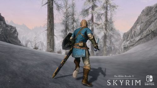 The Elder Scrolls V: Skyrim Running on Nintendo Switch Shown at E3