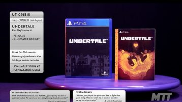 Undertale Announced for PlayStation 4 and PS Vita
