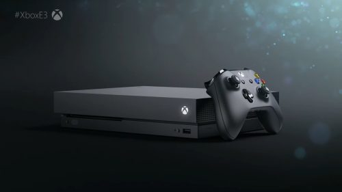 Xbox One X Announced at E3, Releasing on November 7