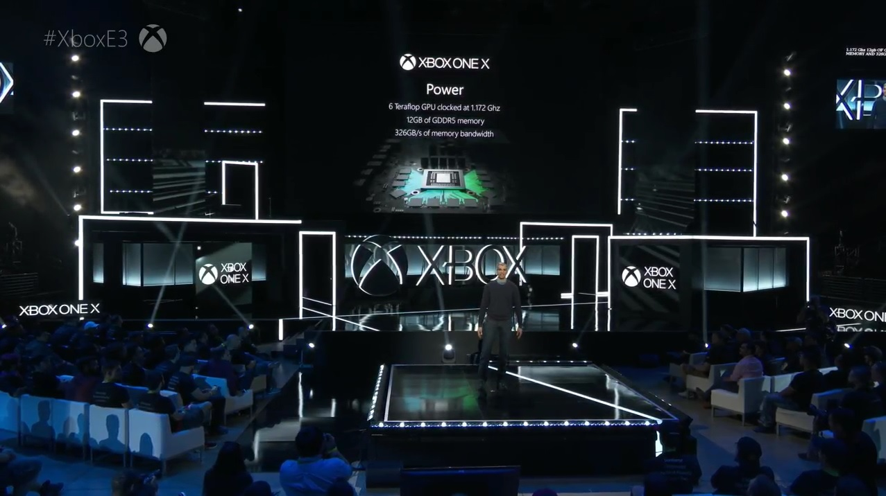 xbox one x announced at e3 releasing on november 7. Black Bedroom Furniture Sets. Home Design Ideas