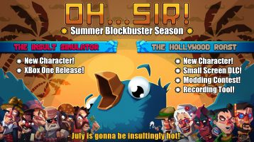 Oh…Sir! Summer Blockbuster Season Bringing Updates to Oh…. Sir!! Games