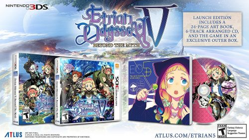 Etrian Odyssey V: Beyond the Myth Launches in North America on October 17