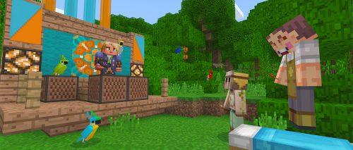Minecraft Better Together Cross Platform Beta Test Live on Windows 10, Android