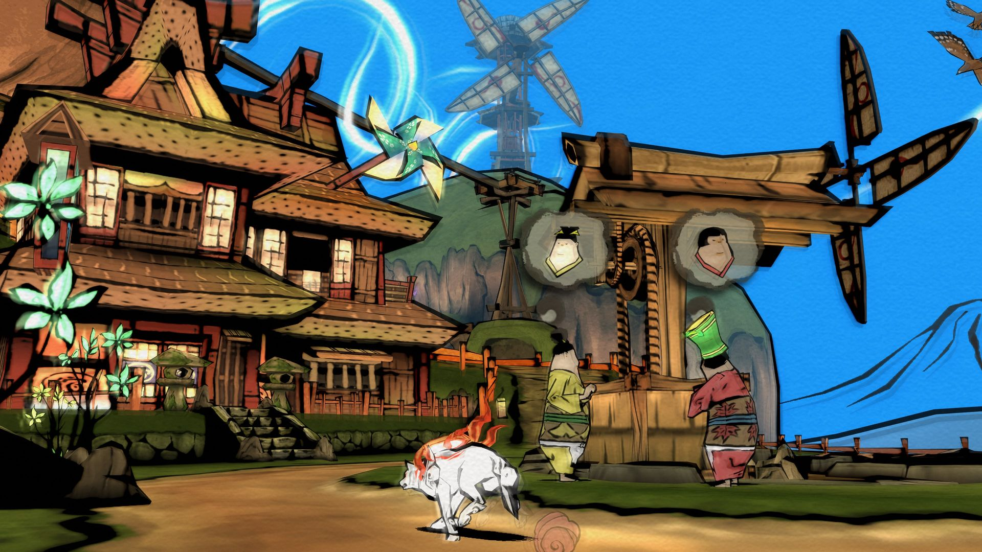 Top Japanese Pc Games : Okami hd coming to playstation xbox one pc capsule