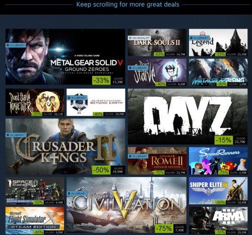 Steam Winter Sale Starts Tomorrow