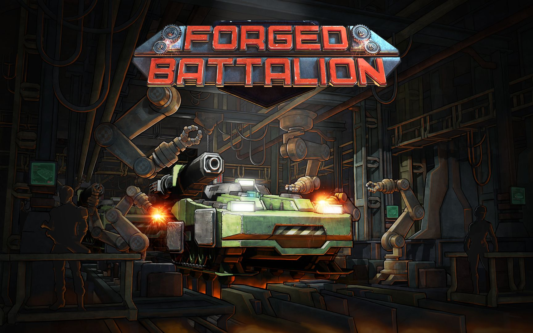 Forged Battalion Preview – Capsule Computers