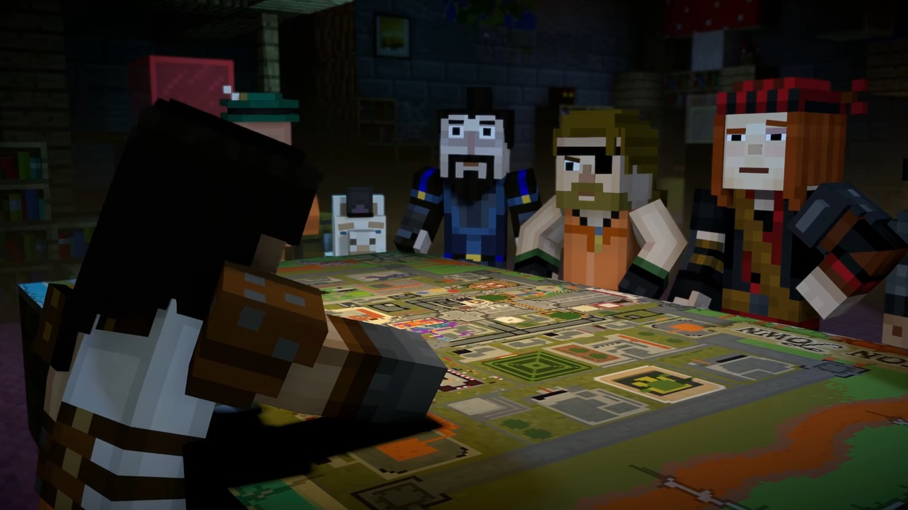 Minecraft Story Mode Season 2 Above And Beyond Review Capsule