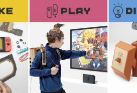Nintendo Introduces the Labo Cardboard Kits for Switch