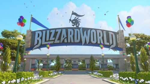 New Overwatch Update Featuring Blizzard World Map Released