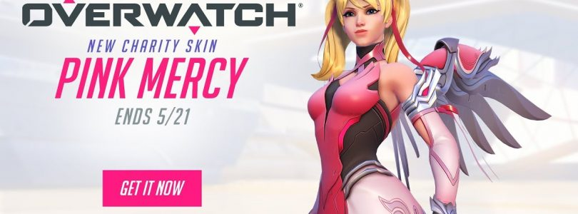 Blizzard Selling Pink Mercy Skin to Support The Breast Cancer Research Foundation