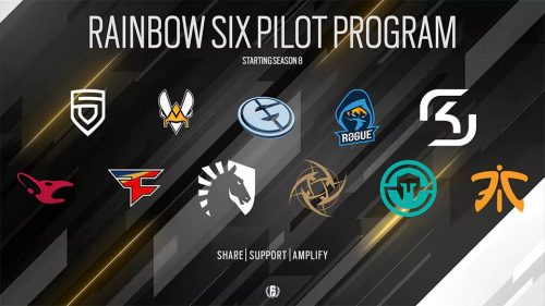 Ubisoft Launching Revenue Sharing Pilot Program for Tom Clancy's Rainbow Six Pro League