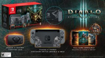 Nintendo Switch Bundle with Diablo III: Eternal Collection Announced