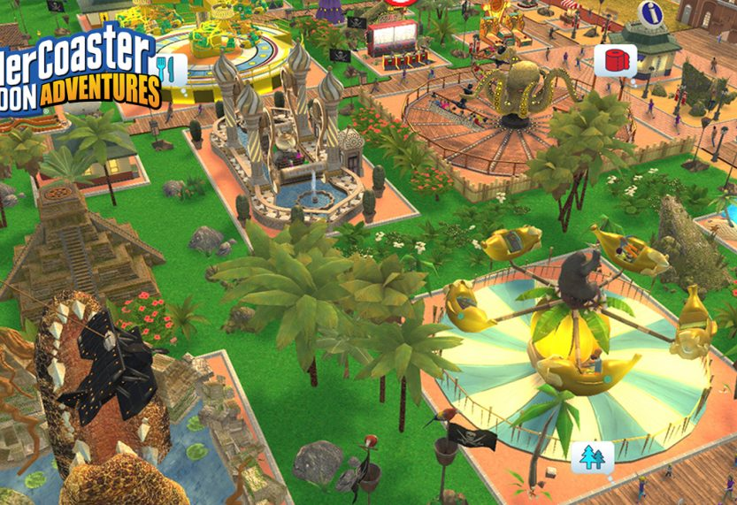 RollerCoaster Tycoon Adventures Coming Soon to Nintendo Switch