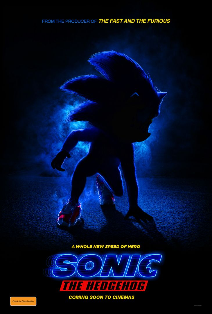 Sonic The Hedgehog Movie Poster Revealed Capsule Computers