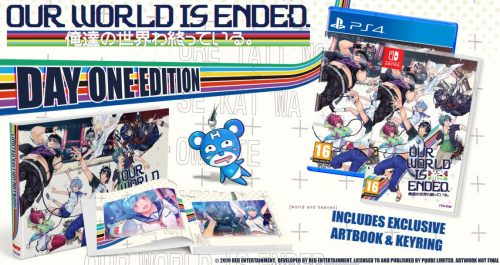 Our World is Ended Releases in the West in March