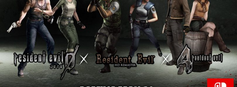 Resident Evil, Resident Evil 0, Resident Evil 4 Head to Switch on May 21