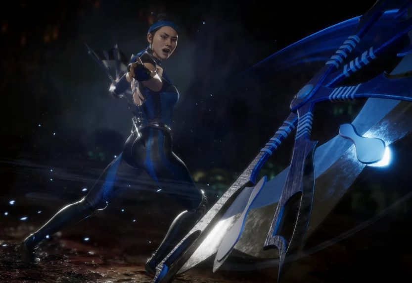 Kitana and D'Vorah Face Off in Mortal Kombat 11 Trailer