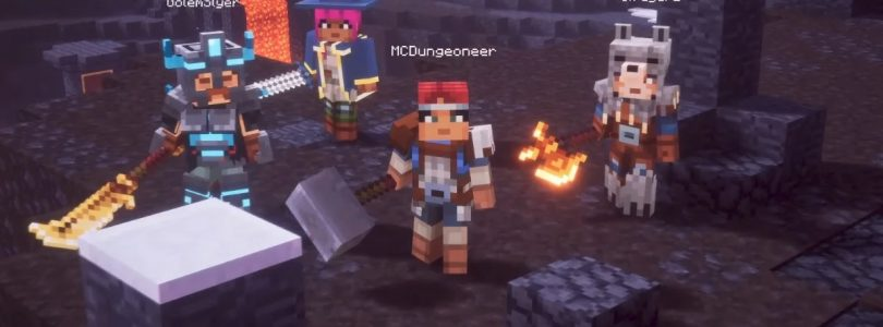 Minecraft Dungeons Announced for Spring 2020