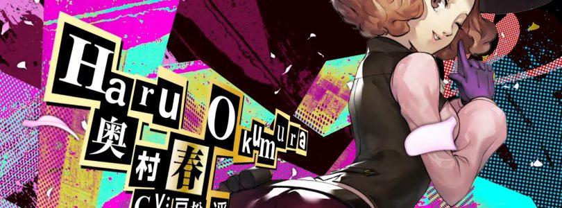 Persona 5 Royal Trailer Focuses on Haru Okumura