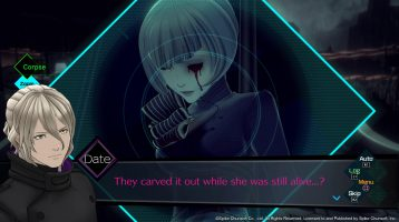 AI: The Somnium Files New Screenshots Focus on Victim Renju Okiura