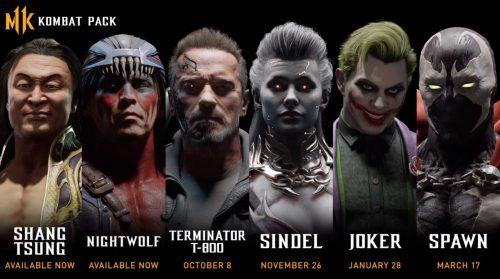 Mortal Kombat 11 Kombat Pass Adds Terminator T-800 and Joker