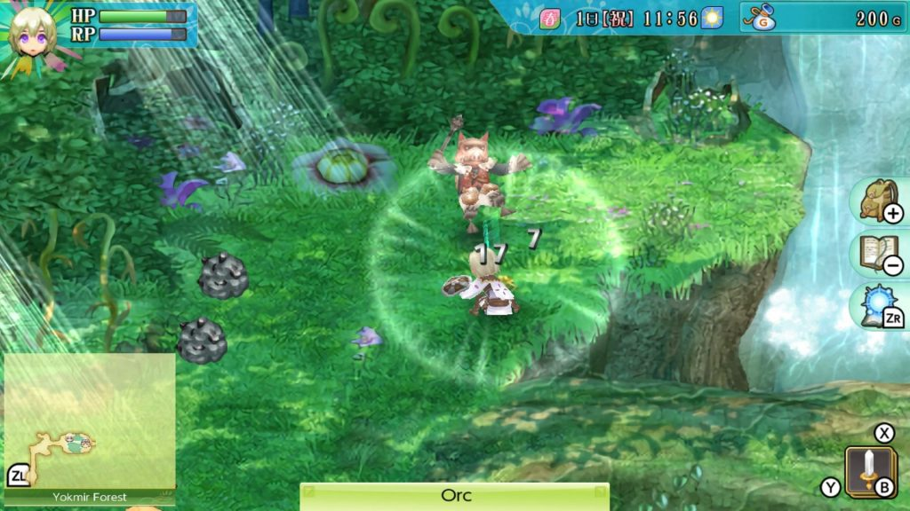 rune factory 4 switch