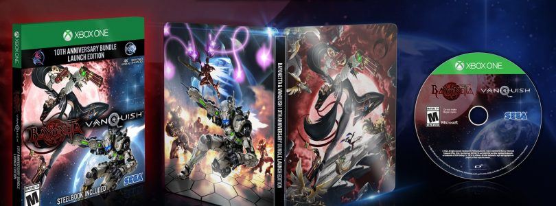 Bayonetta & Vanquish 10th Anniversary Bundle Officially Revealed