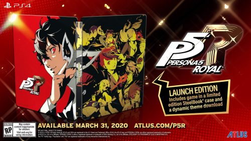 Persona 5 Royal Arrives in the West on March 31