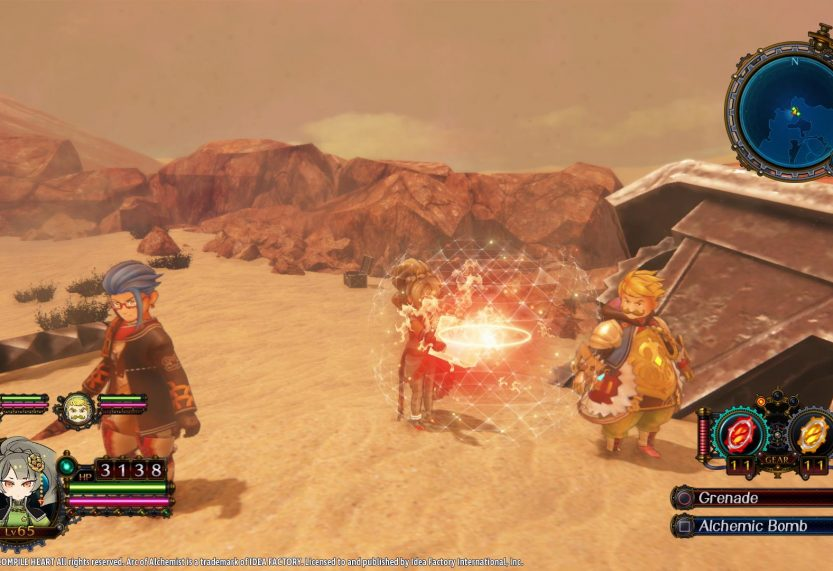 New English Gameplay Footage Released for Arc of Alchemist