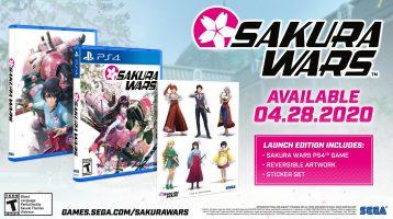Sakura Wars Releasing in the West on April 28