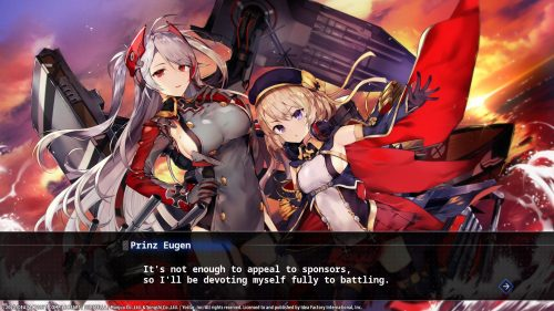 Azur Lane: Crosswave Story and Photo Screenshots Released